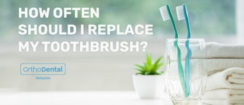 How often should I replace my toothbrush